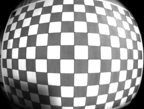 Image distortion correction